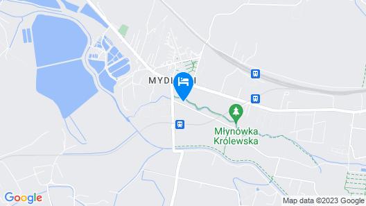 Hotel Zakliki Map