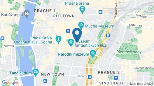 Splendid 2 Bedroom House in Prague Map