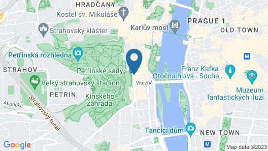 Hotel Roma Prague Map
