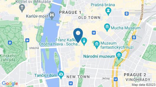 Like Home Apartments Prague Map