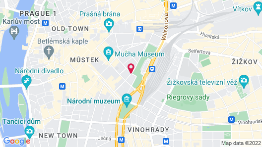 Falkensteiner Hotel Maria Prag Map