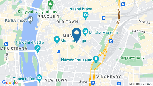 EA Hotel Juliš Map