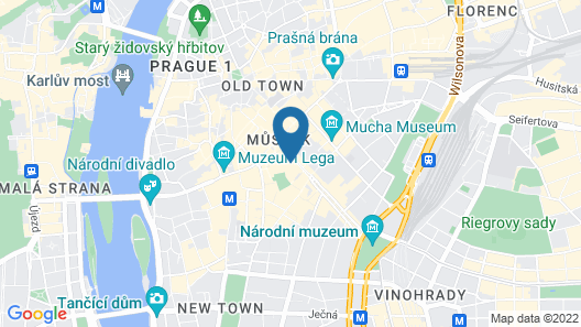 Pytloun Boutique Hotel Prague Map