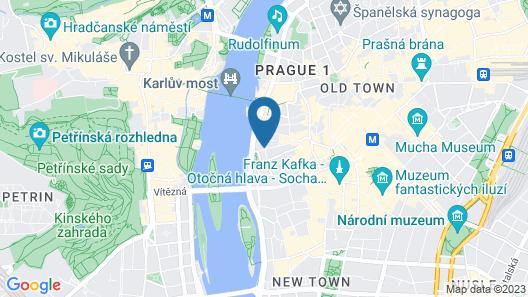 Hotel Leonardo Prague Map