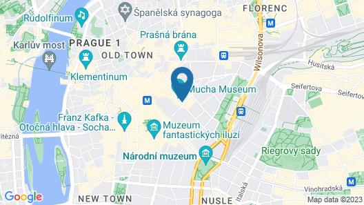 NYX Hotel Prague by Leonardo Hotels Map