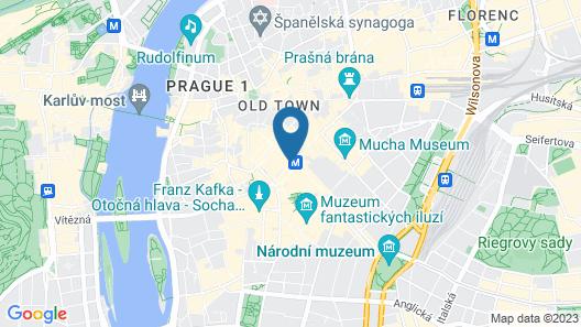 Hotel Prague Inn Map