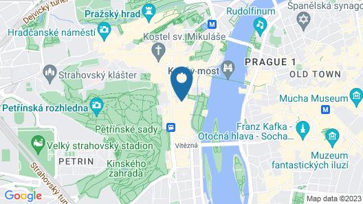 Mandarin Oriental, Prague Map