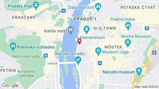 The Mozart Prague Map