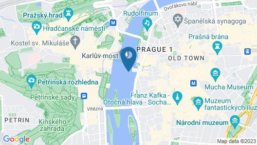 Legner Hotel Praha - Libus Map