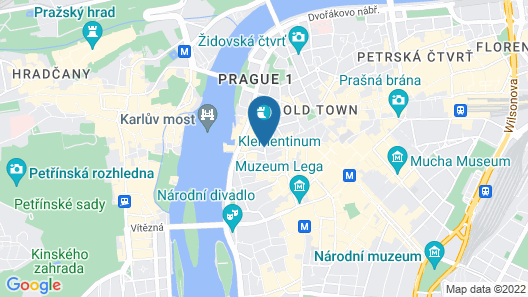 Exclusive home in heart of Prague  Map