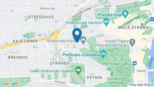 Lindner Hotel Prague Castle Map