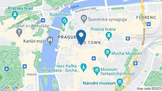 Hotel U Prince Map