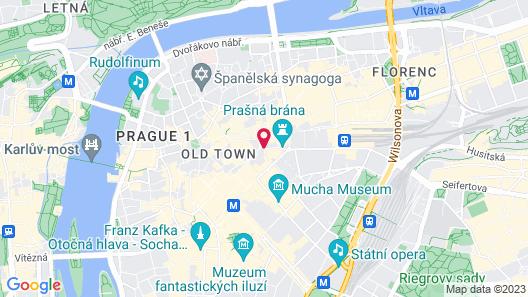 Barceló Old Town Praha Map