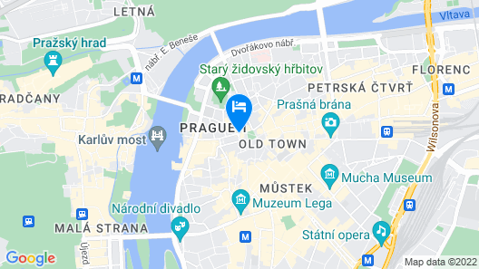 Hotel & Residence U Tri Bubnu Map