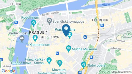 Grand Hotel Bohemia Map