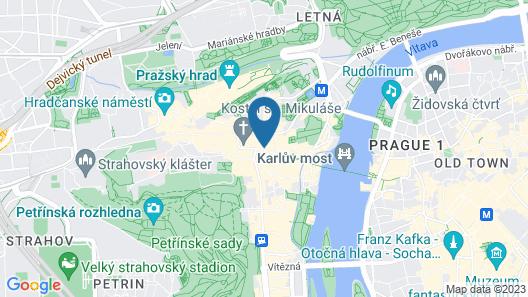 Malostranska Residence Map