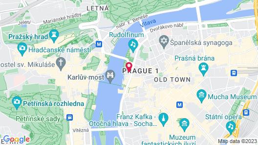 Four Seasons Hotel Prague Map