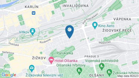 Hotel Aron Map