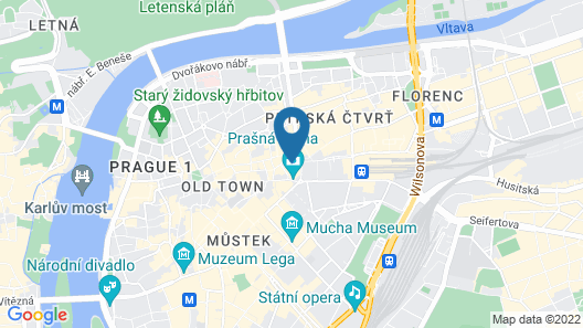 Hotel Paris Prague Map