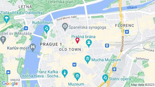 Hotel Metamorphis Map