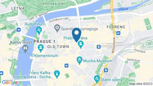 EA Hotel Royal Esprit Map