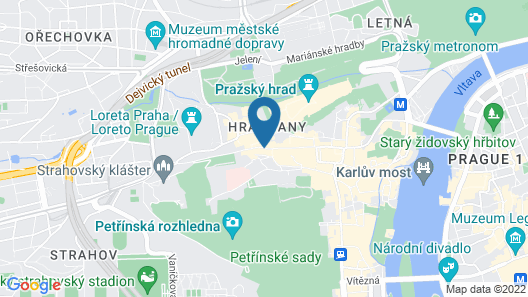Hotel Residence Green Lobster Map