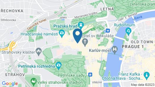 Small Luxury Palace Residence Map