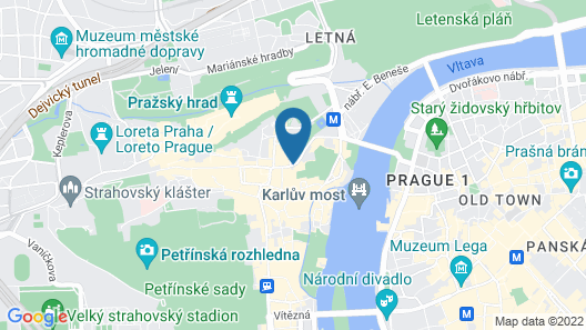 Augustine, a Luxury Collection Hotel, Prague Map