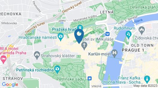 Residence Thunovska 19 Map