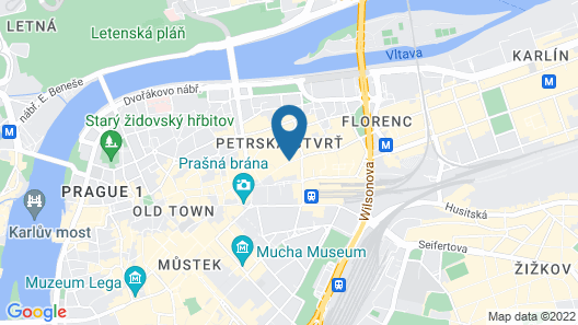 Century Old Town Prague - MGallery Map