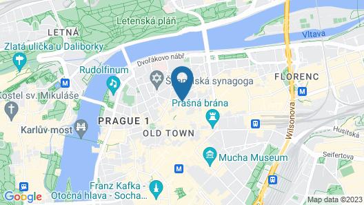 Myo Hotel Mysterius Map