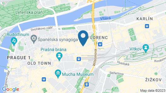 Motel One Prague-Florentinum Map
