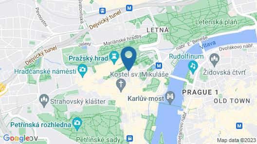 Alchymist Prague Castle Suites Map