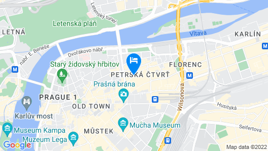 Hotel Salvator Map