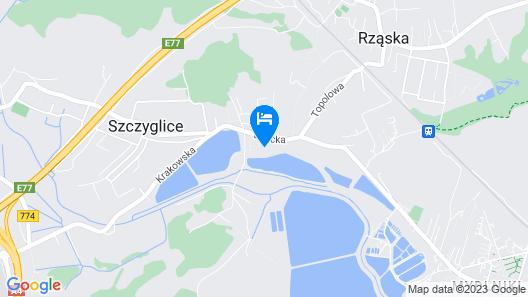 Hotel Pod Kamykiem Map