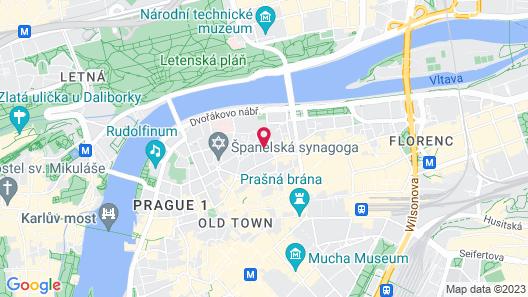 Hotel Maximilian Map