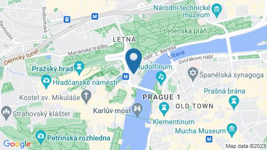 Hotel Klarov Map