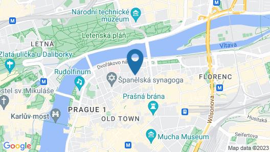 Hotel Casa Marcello Map