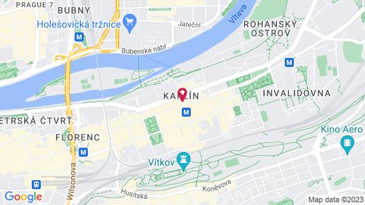 Hotel Royal Prague Map