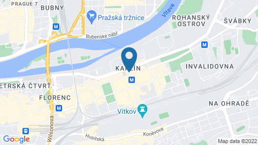Hotel Royal Prague Map