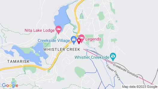 Legends Whistler Map