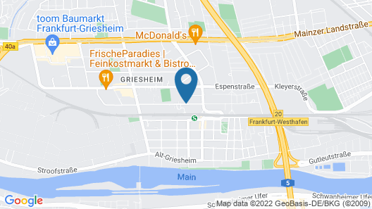 Prime 20 Serviced Apartments Map