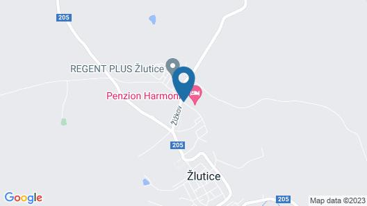 Penzion Harmonie Map