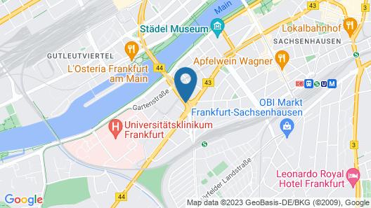 Rocco Forte Villa Kennedy Map