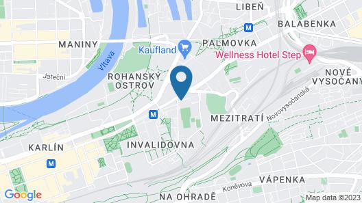 Hotel Olympik Map
