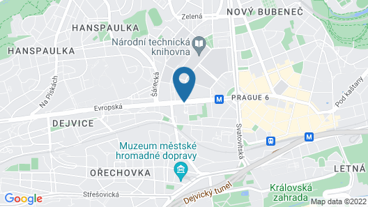 Vienna House Diplomat Prague Map