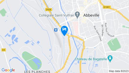 Résidence DOMITYS L'Aigrette Bleue Map