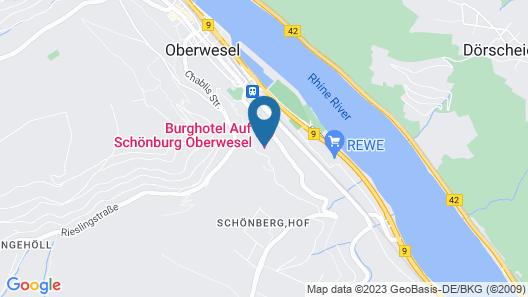 Burghotel Auf Schönburg Map