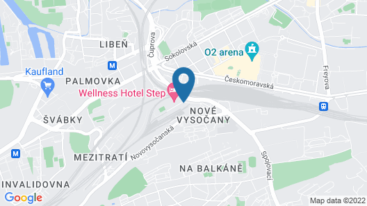 WELLNESS HOTEL STEP Map