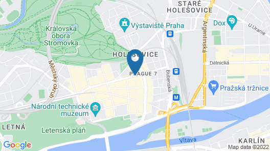 Mama Shelter Prague Map